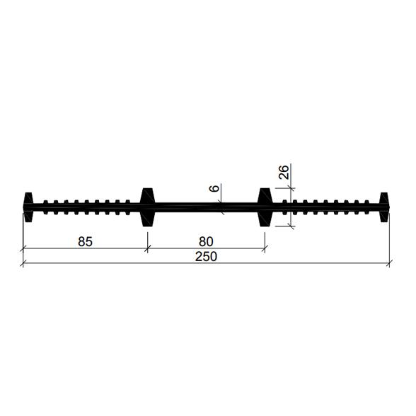 Гидрошпонка-ХВ-250–(Резина-EPDM)