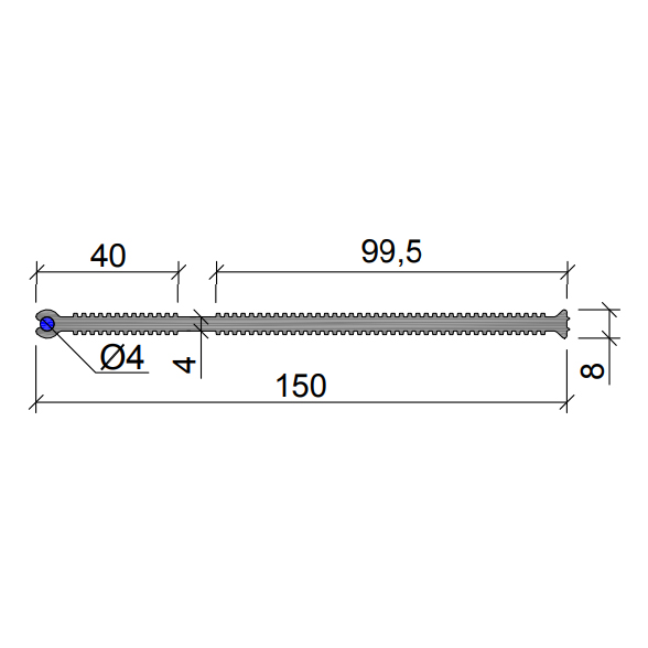 Гидрошпонка-ХВН-150-2хØ4-(ПВХ)