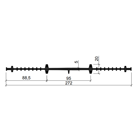 Гидрошпонка-ХВ-270-(Резина-EPDM)