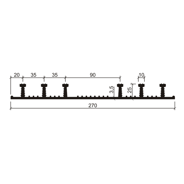 Гидрошпонка-ХО-270-625